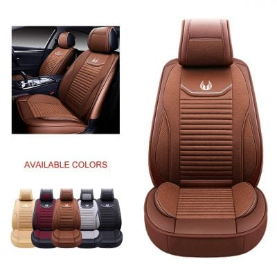 OASIS AUTO Leather Car Seat Faux Leather Cover