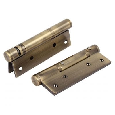 Ranbo Stainless Steel Heavy-Duty Spring-Loaded Self-Closing Door Hinges