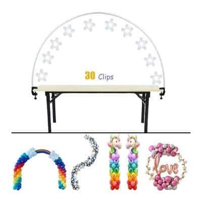 Decojoy Flexible Table Balloon Arch Kit