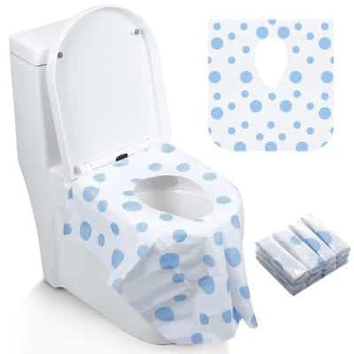 Famard Toilet Seat Covers Extra Large Portable Potty Cover
