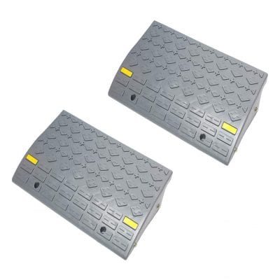 BISupply 2 Pack Cur Ramp 6 Inches Rise