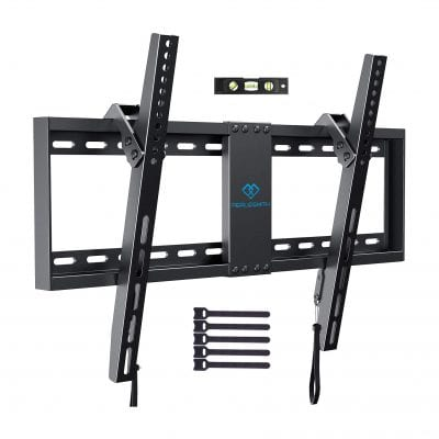 PERLESMITH Low Profile Tilt TV Wall Mount
