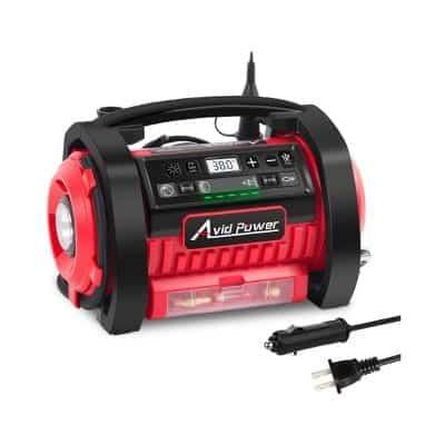 Avid Power 110V AC Tire Inflator for cars