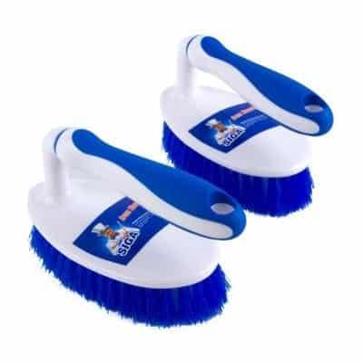 MR.SIGA Cleaning Brush for Bathroom