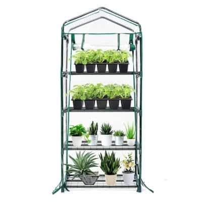 TOOCA Mini Greenhouse 4 Tier Portable Greenhouse