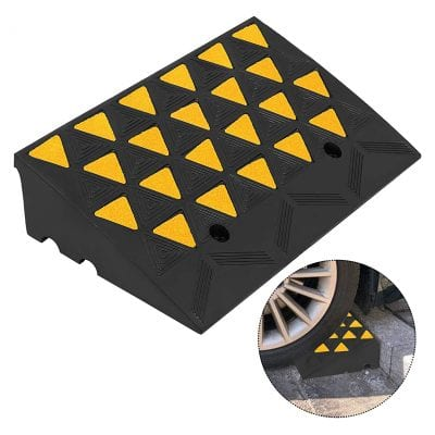 Mophorn Curb Ramp 23.5 Inches Length Yellow Side Walk Curb Ramp