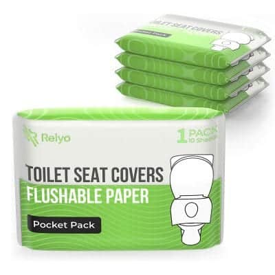 N2 Toilet Seat Cover Paper Flushable 50 Pack
