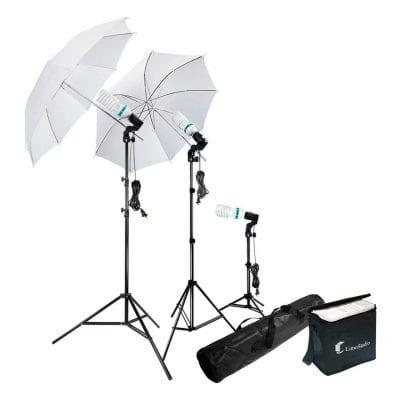 LimoStudio Umbrella Continuous Lighting Kit