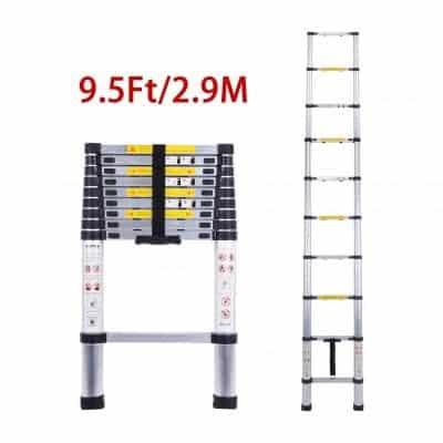 CCYX EN131Standards Telescoping Aluminum Extension Ladders
