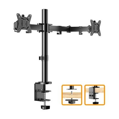 ErGear Dual Monitor Stand - 17.6 lbs. Weight Capacity