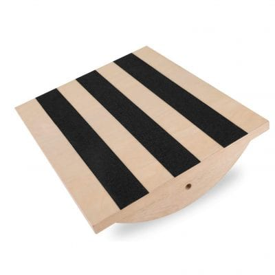 Liberty Imports Professional Wooden Foot Rocker Board