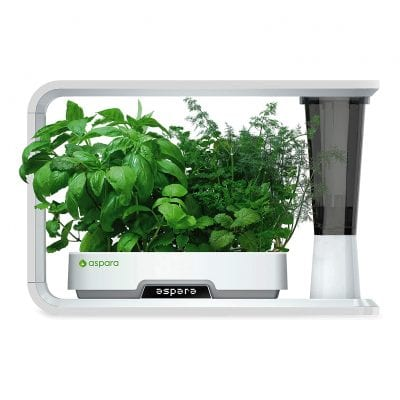 aspara GS1003-W Smart Hydroponic Indoor Growing System