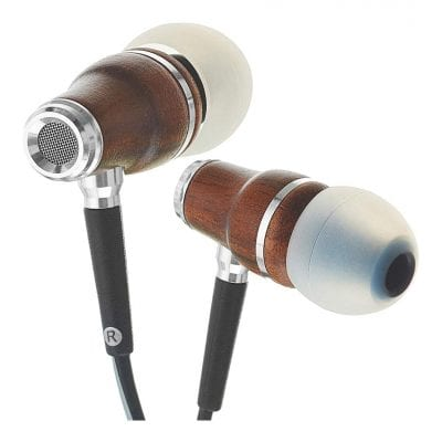 Symphonized store Wired Wood Ear Bud Headphones with Mic
