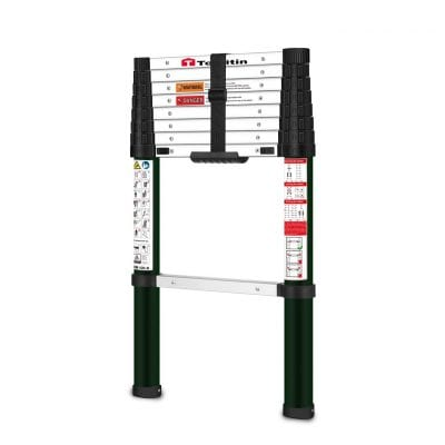 TOOLITIN Aluminum Telescoping Extension Ladder
