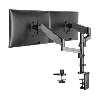 WALI Dual LCD Monitor Mount, Black