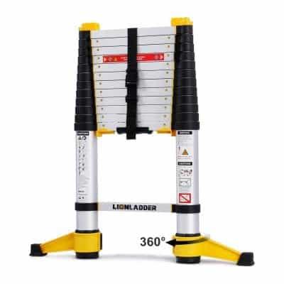 xaestival Lionladder EN131-6 Telescoping Extension Ladder