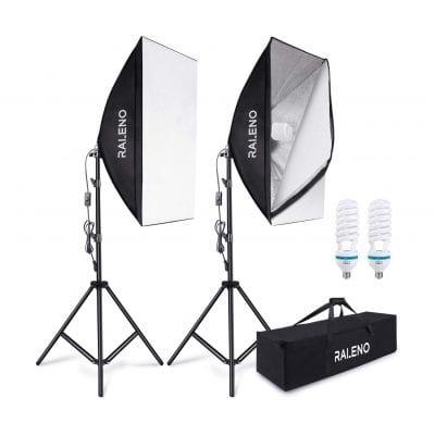 RALENO Photography Lighting Kit
