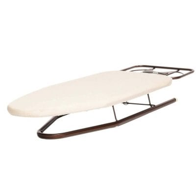 HOMZ Deluxe Tabletop Compact Mini Ironing Board 39 x 12 x 4.5 Inches