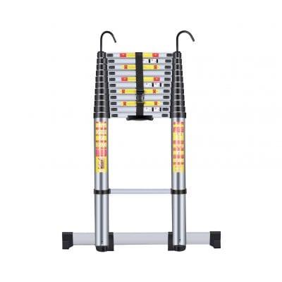 Handvoll Aluminum Telescoping Extension Ladder