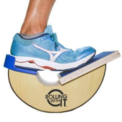 Rolling with It Premium Quality Wooden Foot Rocker and Calf Stretcher