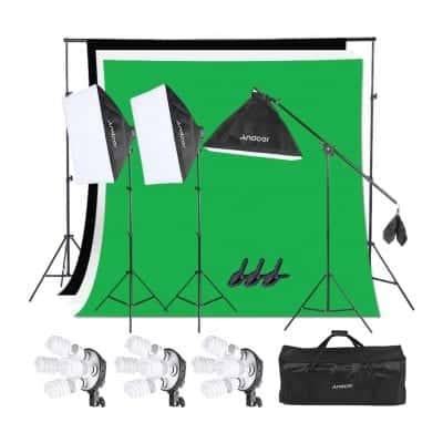 Andoer Photography Studio Lighting Kit