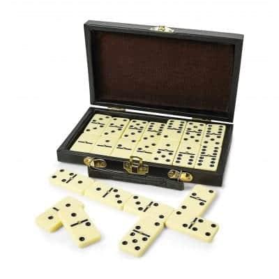 Kicko Domino Set - Premium Classic 28 Pieces Double Six