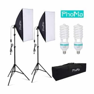 Phomia Softbox Lighting Kit