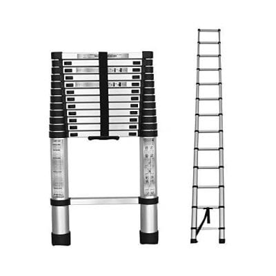 findmall Aluminum Telescoping Extension Ladder