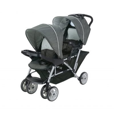 Graco DuoGlider Lightweight Double Stroller with Tandem Seating