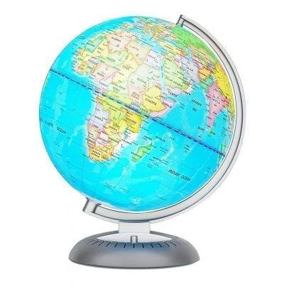 Little Experimenter Illuminated World Globe for Kids