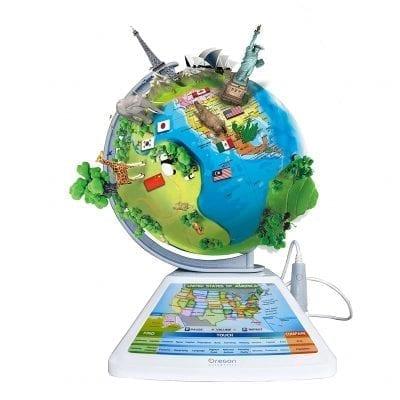 Oregon Scientific SG268R Smart World Globe for Kids