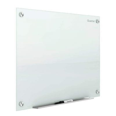 Quartet Glass Whiteboard, Magnetic Dry Erase White Board
