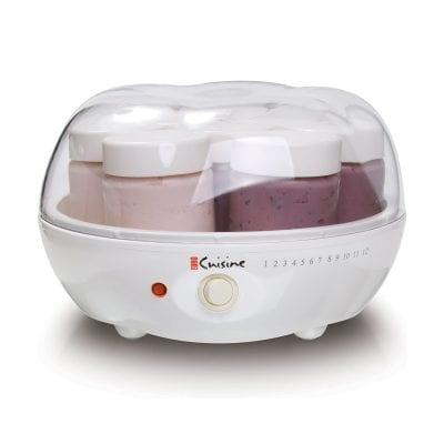 Euro Cuisine YM80 White Yogurt Maker