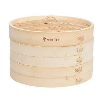 """Helen Chen's 10"""" Bamboo Steamer"""