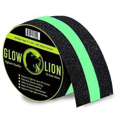 Glow Lion Non-Slip Dark Tape