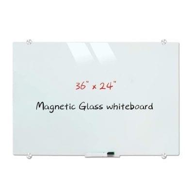 DEVE LOP Magnetic Frameless Glass Whiteboard