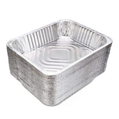 DOBI 9x Aluminum Pan Disposable Heavy-Duty Half-Size Deep Foil Pan