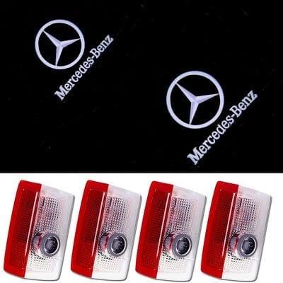 JYMAOYI for Benz Door Light, 4 Pieces