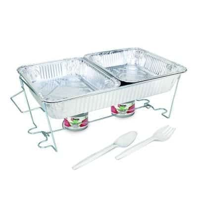 Sterno 70181 Buffet Kit Full Disposable Chafing Dish
