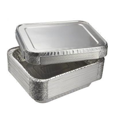 Juvale Aluminum Foil Pan – 20 Piece Half-Size Deep Disposable Pan
