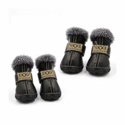 Qiao Niuniu Winter Dog Shoes