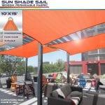 Sun Shade Sail Canopy UV Block