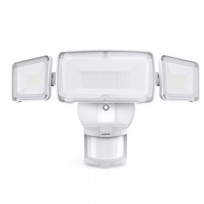 LEPOWER 35W LED Security Lights with Motion Sensor