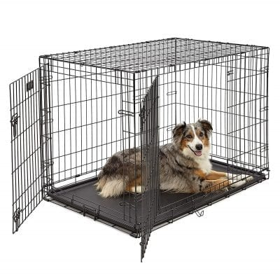 MidWest Homes for Pets Dog Cage   Fully Equipped