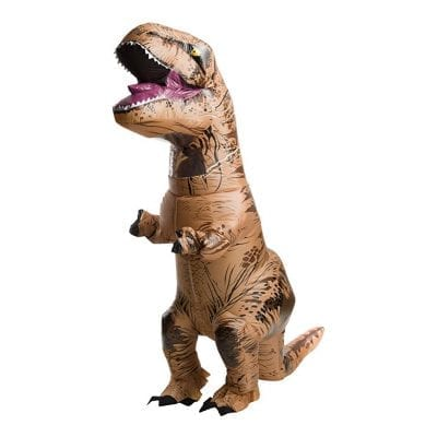 Rubie's Adult Official Inflatable Dinosaur Costume