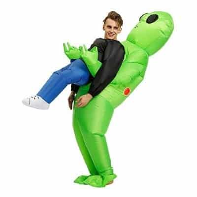 Jimcoser Alien Inflatable Jumpsuit for Adult and Kids