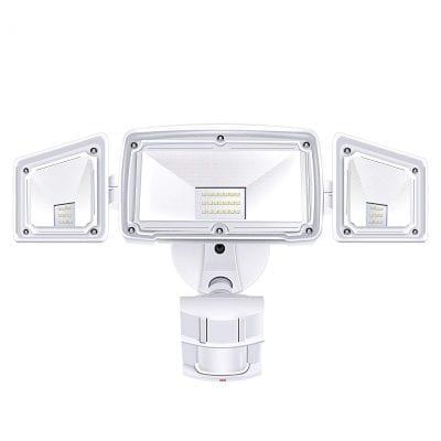 Amico 3 Head LED Security Lights Motion Sensor Light
