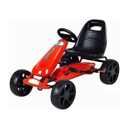 Costzon Go Kart 4 Wheel Powered Ride On Toy