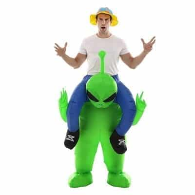 Double Couple Inflatable Alien Costume for Adult and Kids Cosplay