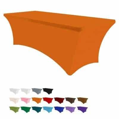 Eurmax 6Ft Spandex Tablecloths